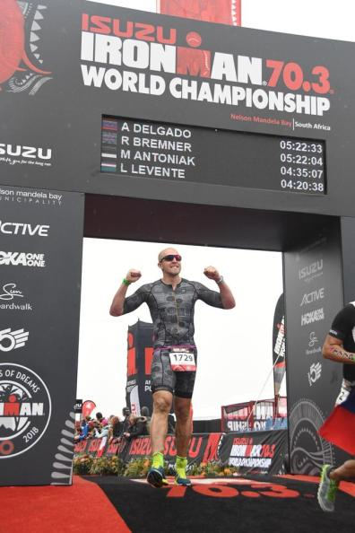 70.3 WC Finish Line